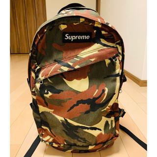 Supreme - supreme カモフラカラーバックパック