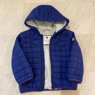 プチバトー(PETIT BATEAU)のプチバトー  ダウンジャケット アウター ジャンパー ブルー(ジャケット/上着)