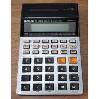 カシオ(CASIO)のジャンク CASIO 関数電卓 fxー650M(OA機器)