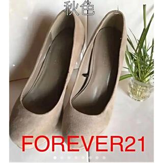 フォーエバートゥエンティーワン(FOREVER 21)のFOREVER21 フェイクスエード 秋色のパンプス(ハイヒール/パンプス)