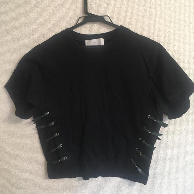 TOGA(トーガ)のTOGA ミニ丈Tシャツ レディースのトップス(Tシャツ(半袖/袖なし))の商品写真
