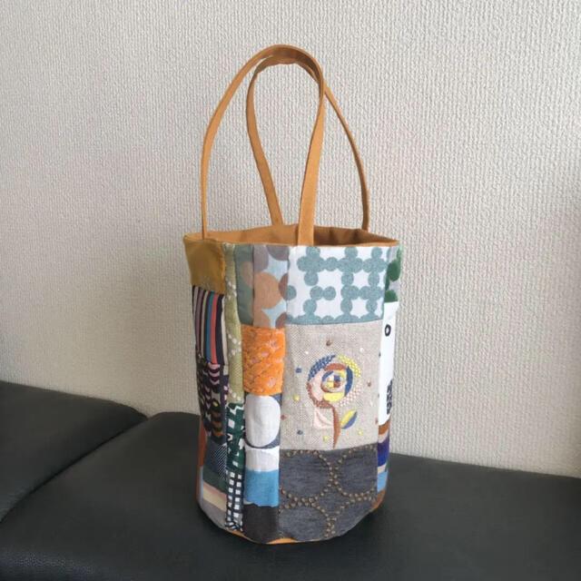 mina perhonen(ミナペルホネン)のhandmade  mina perhonen piece  バゲットバッグ レディースのバッグ(トートバッグ)の商品写真