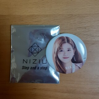NiziU 缶バッジ リク