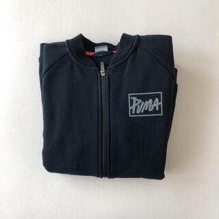 プーマ(PUMA)のプーマ PUMA 160 黒 アウター シンプル(ジャケット/上着)