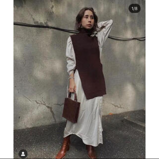 Ameri VINTAGE - Ameri VEST LAYERED SHIRT DRESS