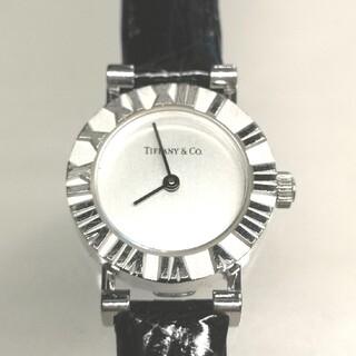 Tiffany & Co. - TIFFANY&Co. ティファニー アトラス レディース腕時計クロコバンド美品