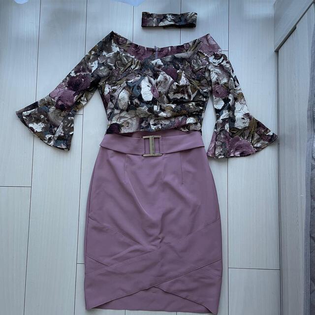 Andy(アンディ)のAndy ドレス チョーカー付き レディースのフォーマル/ドレス(ミニドレス)の商品写真