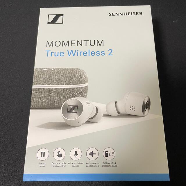 SENNHEISER(ゼンハイザー)のMOMENTUM True Wireless 2 スマホ/家電/カメラのオーディオ機器(ヘッドフォン/イヤフォン)の商品写真