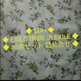 LDH EXILE TRIBE Jr.EXILE グッズ30点セット 詰め合わせ