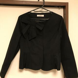 GALLERY VISCONTI - 新品 ギャラリービスコンティ  リボン付きジャケット