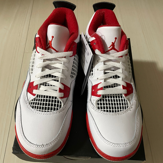 NIKE - 21cm NIKE AIR JORDAN 4 RETRO fire red