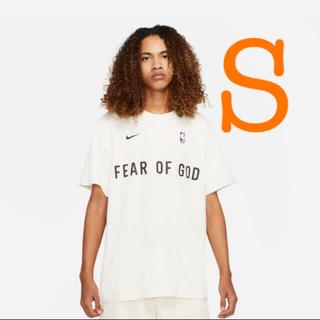 NIKE - Nike Fear of god ペールアイボリーウォームアップ Tシャツ