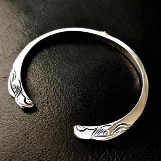 goro's - silver925  金メタル付 顔ブレス バングル  ゴローズ 好きに