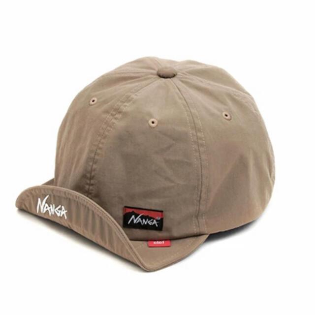 NANGA(ナンガ)のNANGA × Clef TAKIBI BRIM CAP ベージュ 新品未使用 メンズの帽子(キャップ)の商品写真