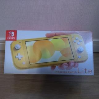 ニンテンドースイッチ(Nintendo Switch)の新品未開封 スイッチライト イエロー 本体 Switch Lite(携帯用ゲーム機本体)