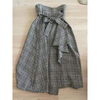 シンゾーン(Shinzone)のELIN☆チェック ラップスカート(ロングスカート)