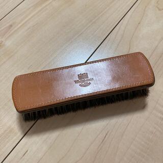 ホワイトハウスコックス(WHITEHOUSE COX)のホワイトハウスコックス 馬毛ブラシ(折り財布)