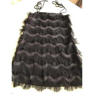 ザラ(ZARA)のブラック ドレス(ミニドレス)