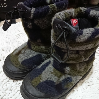 THE NORTH FACE - THE NORTH FACE ノースフェイス キッズ ブーツ ヌプシ カモフラ