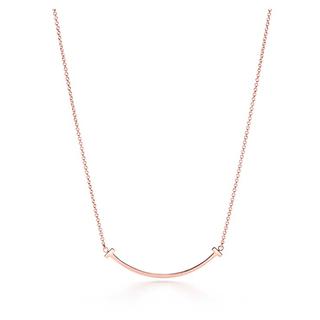 Tiffany & Co. - Tiffany スマイル ペンダント ネックレス スモール