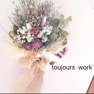 ドライフラワーリース◇ flower◆◇冬のリース◇プレゼント◇◇(ドライフラワー)