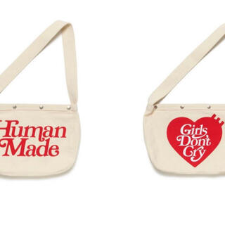 GDC - human made girls don't cry paperboy bag