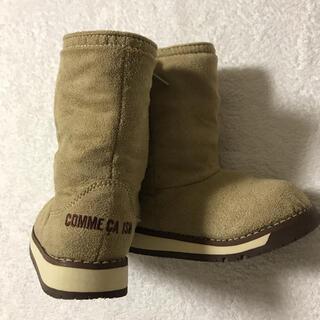 コムサイズム(COMME CA ISM)の【美品】コムサイズム ✖️ IFME 15 ブーツ(ブーツ)