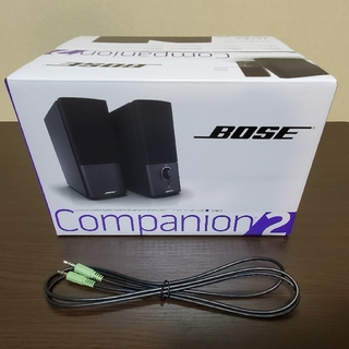 ボーズ(BOSE)のBOSE(ボーズ) スピーカー COMPANION2 SERIES 3 BK(スピーカー)