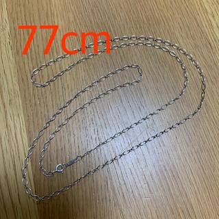 Tiffany & Co. - ティファニー 希少 オーバルリンクチェーン 77cm ロングネックレス