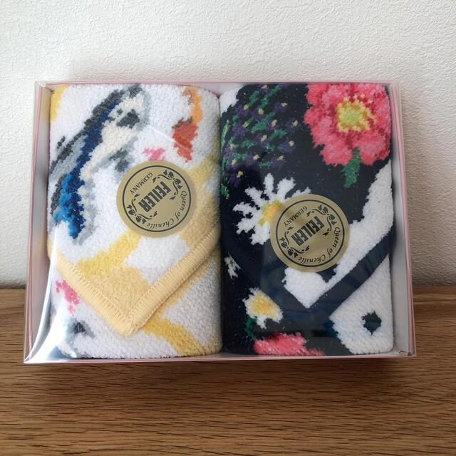FEILER(フェイラー)のANA フェイラー コラボハンカチ 【新品】 レディースのファッション小物(ハンカチ)の商品写真