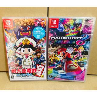 Nintendo Switch - ◾️新品未開封 ●桃太郎電鉄 ●マリオカート8 デラックス  switchソフト