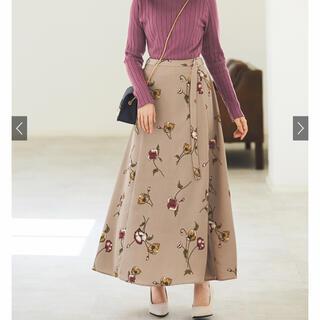 GRL - GRL 花柄 ロングスカート