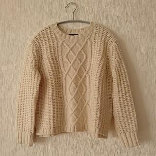 23区 - 23区 美品 ウール アラン編み ニット