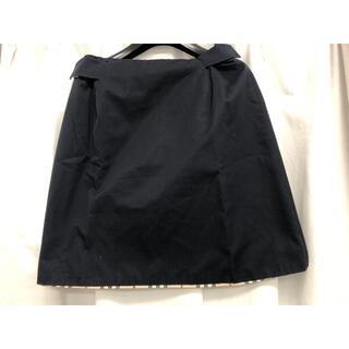 バーバリー(BURBERRY)のBURBERRY バーバリー 巻きスカート skirt(ミニスカート)