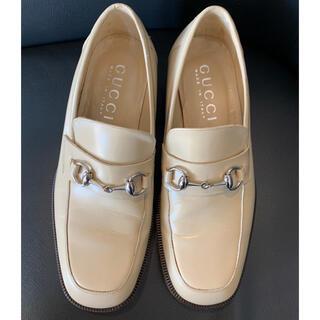 Gucci - 美品☆GUCCI(グッチ)ホースビットレザーローファー・革靴・25.5