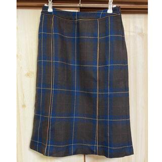 アンバー(Amber)のウールスカート(ひざ丈スカート)