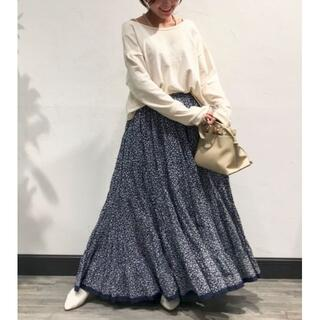 IENA - MARIHA 草原の虹 ミニフラワースカート