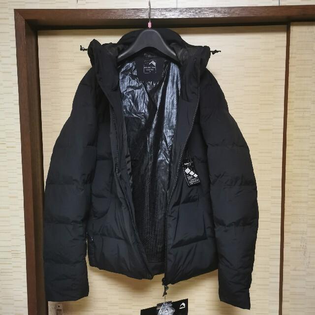 WALKMAN(ウォークマン)のワークマン リペアテック 洗えるフュージョンダウンフーディーM 黒 HD002  メンズのジャケット/アウター(ダウンジャケット)の商品写真