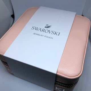 スワロフスキー(SWAROVSKI)の【新品】SWAROVSKI スワロフスキー アクセサリーケース ノベルティ(小物入れ)
