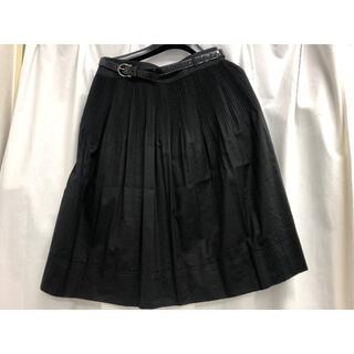 バーバリー(BURBERRY)のBURBERRY バーバリー プリーツスカート サイズ36(ひざ丈スカート)