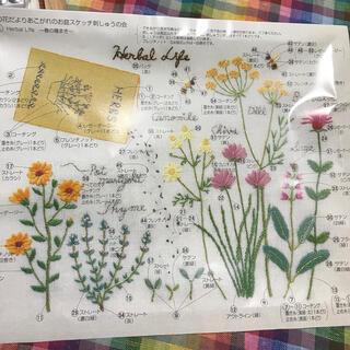 フェリシモ(FELISSIMO)のフェリシモ 青木和子 季節の花だより 春の種まき(生地/糸)