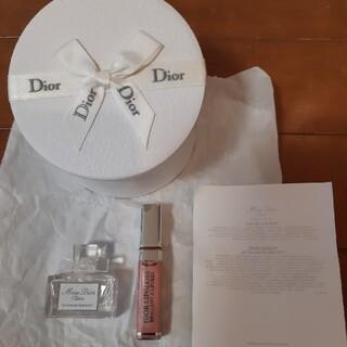 クリスチャンディオール(Christian Dior)のディオール リップグロス、トワレ サンプルセット(その他)