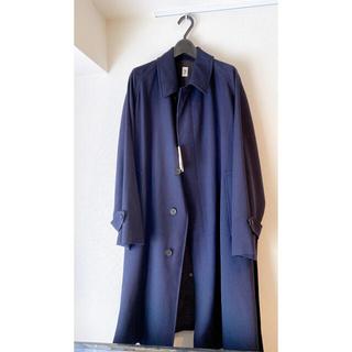 COMOLI - LE エルイー ウールサージ バルカラー コート comoli 20aw