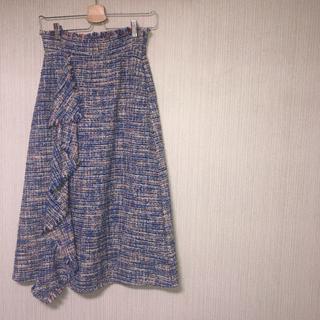 センスオブプレイスバイアーバンリサーチ(SENSE OF PLACE by URBAN RESEARCH)のロングスカート Sサイズ(ロングスカート)