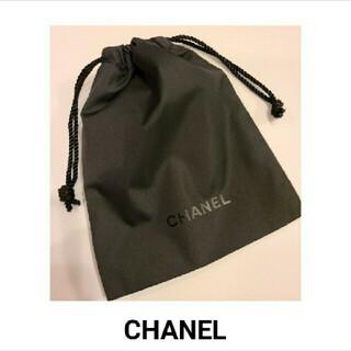 CHANEL - CHANEL 巾着 黒