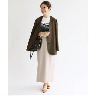 IENA - iena メランジタイトスカート