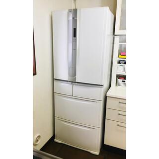 東芝 - 東芝 495L 6ドア冷蔵庫 フレンチドア プッシュ式 GR-W50FT