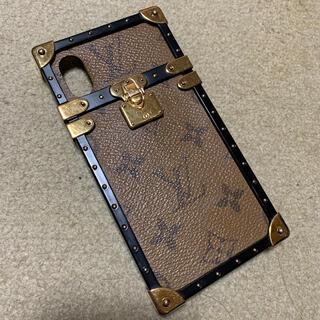 ルイヴィトン(LOUIS VUITTON)のマッシュ様 専用ルイヴィトンiPhoneケースXS .Sアイトランクケース(iPhoneケース)
