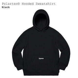 Supreme - Supreme Polartec Hooded Sweatshirt Lサイズ