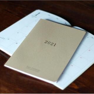 オゥパラディ(AUX PARADIS)の【おまけ付き】12月始まりAUX PARADISオリジナル スケジュール帳 A5(カレンダー/スケジュール)
